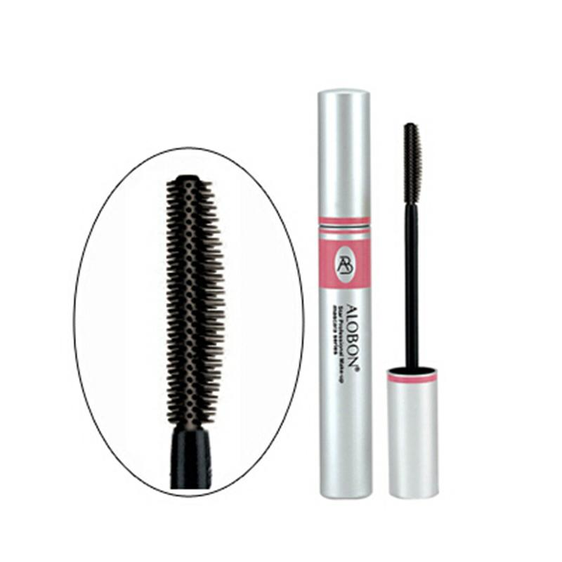 Black Ink Alobon 3d Fiber Lashes Mascara Individual Curl Eyelash Extension Colossal Mascara Volume Express Makeup 12ml