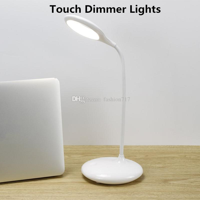 2018 Portable Desk Lamp Touch Sensor Kids Led Eye Care Lamp Light ...