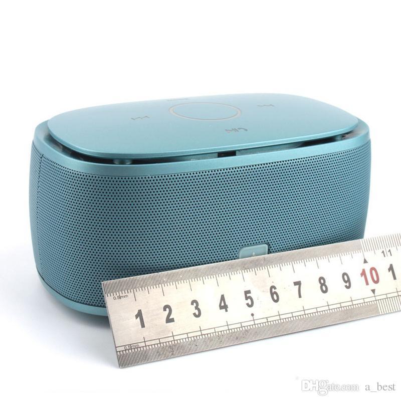 Haut-parleur sans fil Bluetooth K5 Super Bass Haut-parleurs Subwoofer Support carte TF musique stéréo Sound Box Caisson de basses pour iPhone