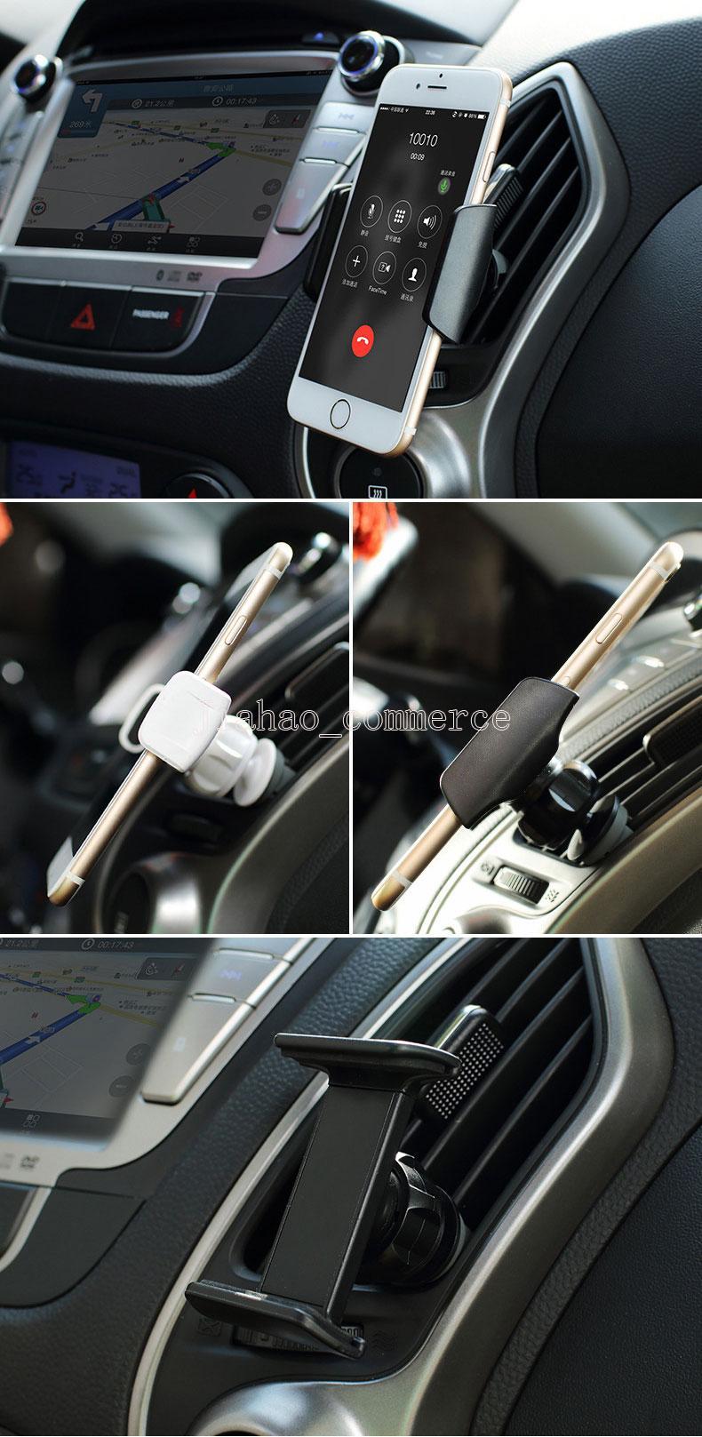 Supporto universale del telefono dello sfiato dell'automobile lo Smart Phone Supporto del supporto di GPS del supporto del telefono conveniente e pratico