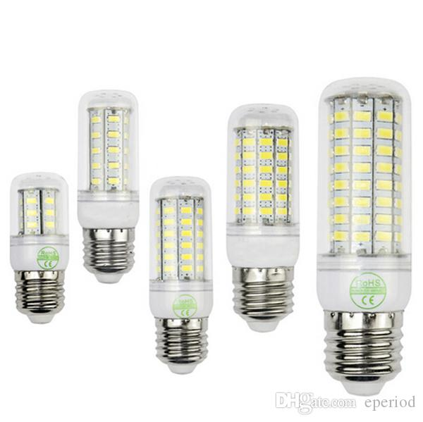 High quality Led corn light E27 E14 GU10 G9 Led lamp bulbs 360degree Spotlight Warm white/White 110V/220V 50pcs DHL free