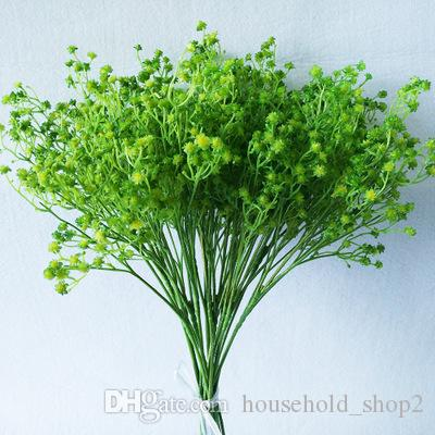 Rtificial Babybreath Decorative Flowes Photography Props Bridal Bouquet Home Party Wedding Christmas Wreaths Colorful Festival Ornament