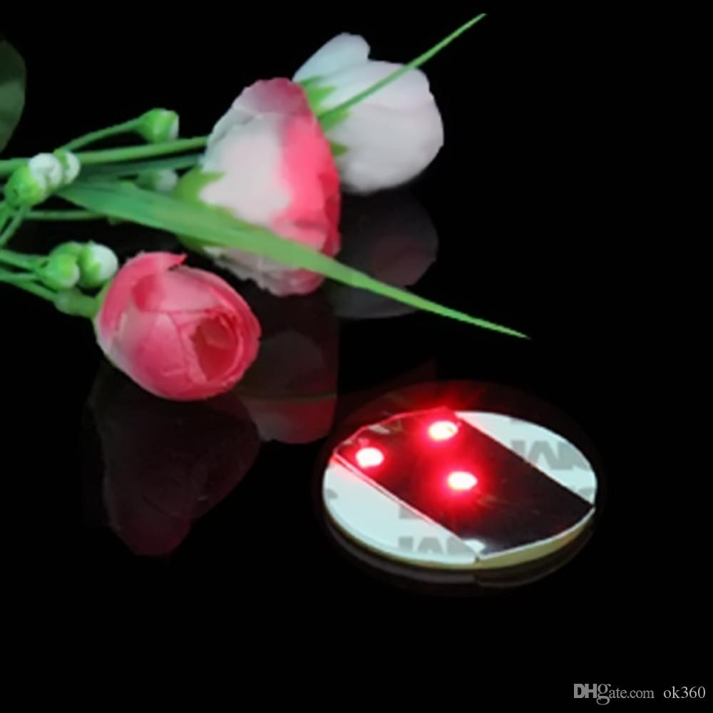 Light Up LED piscando Garrafa Etiqueta Cup 3M Caneca Coaster mat copo para Holiday Party clubes Bar partido
