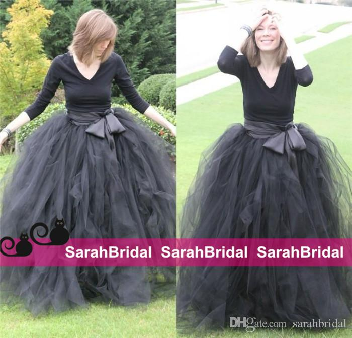 Ankle Length Tulle Petticoat