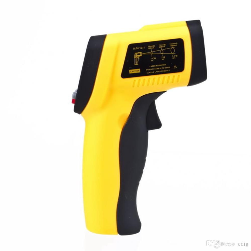 BENETECH Digital Non-Contact -50 To 550 degree LCD IR Laser Infrared Thermometer Themperature Measurement Electronic Point Gun