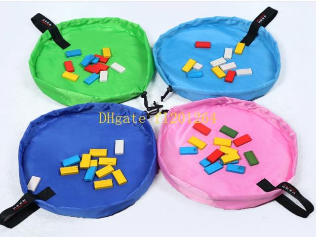 45CM Small Size Children Kids Toys Storage Orangizer Bag For Family Picnic Car Baby Beach Play Mats