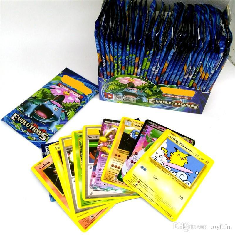 324 pçs / set Novo Poker Cartas de Poker Sol e Lua Modelo de Cartão de Poker para Crianças Dos Miúdos Dos Desenhos Animados Anime Festa Jogos de Tabuleiro Brinquedos DHL
