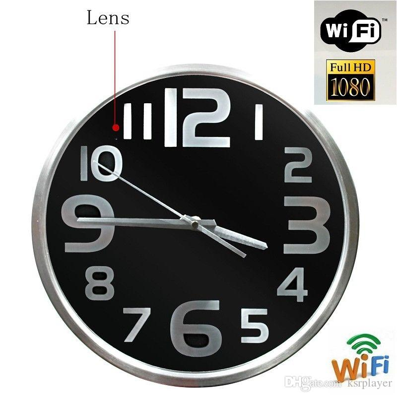 Großhandel Hd 1080p Wifi Spy Versteckte Kamera Wanduhr Videorecorder ...