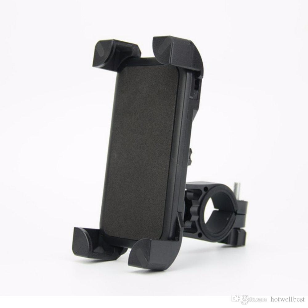 عالمي دراجة دراجة حامل الهاتف المحمول المقود كليب حامل جبل القوس ل iPhone سامسونج الهاتف المحمول GPS
