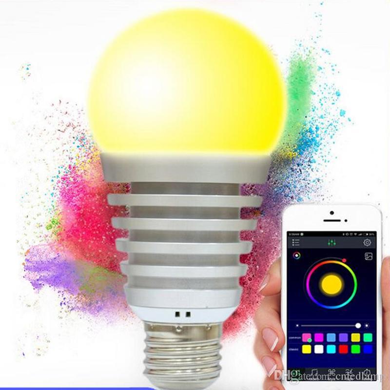 Bluetooth 9W LED-Birnen mit WiFi Smartphone-Steuer-Qualitäts-Birnen mit CER FCC Rf genehmigt