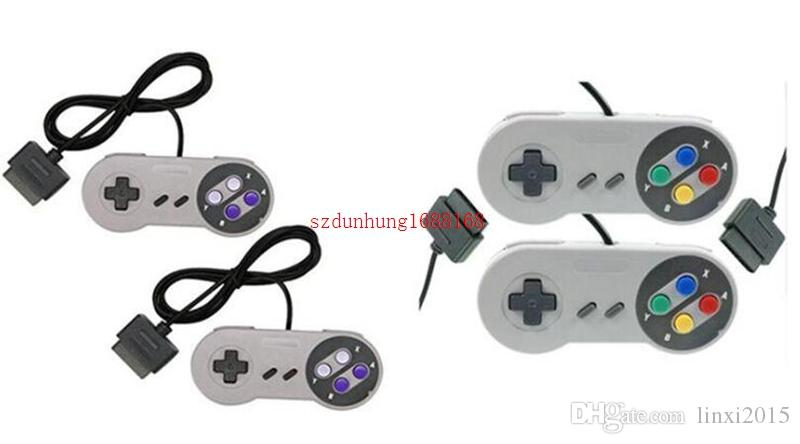 NOUVEAU Contrôleur 16 bits pour Super pour Nintendo SNES Console de commande du système