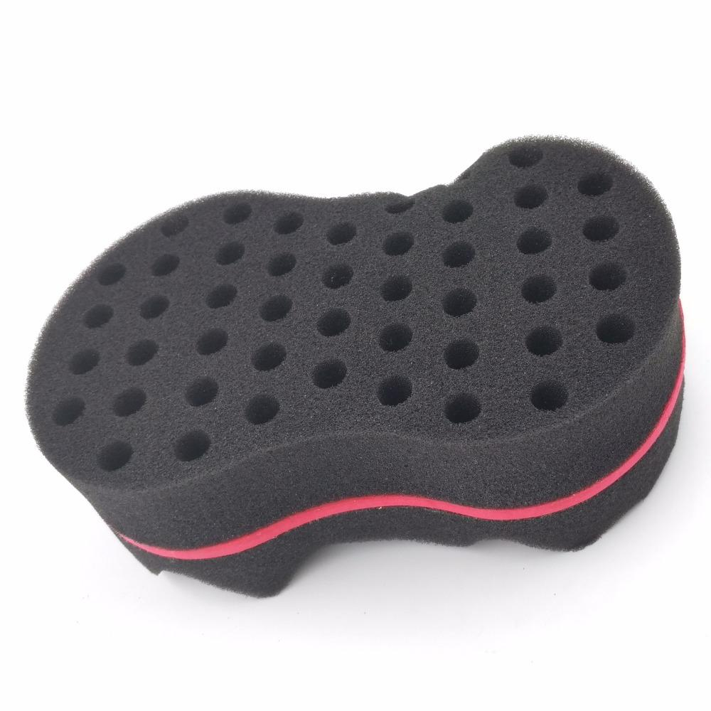sponge brush. double sides magic twist hair sponge brush,adds texture to styling tools coil curler afro braid,hair wave usa care apps from brush e