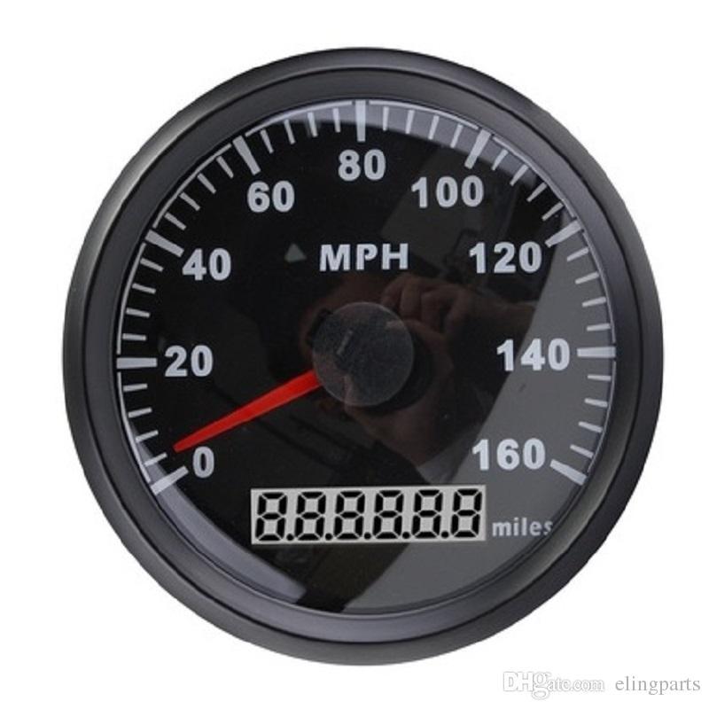 2018 Waterproof Universal Mph Gps Speedometer Odometer