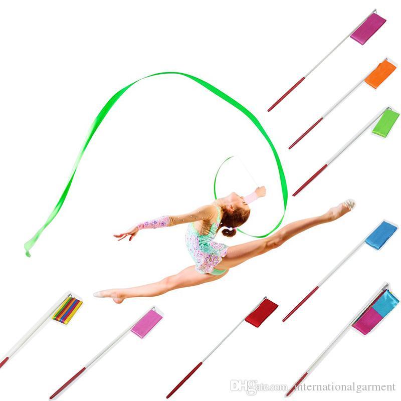 Großhandel 20 Farben Tanzband Gym Rhythmische Gymnastik Kunst ...