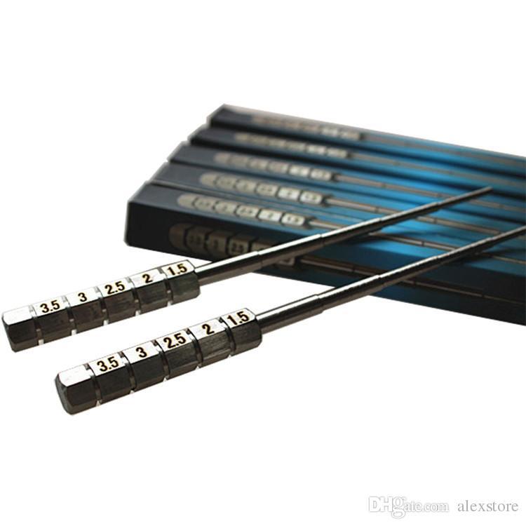 마이크로 코일 지그 미니 팩 싱글 팩 스테인레스 스틸 코일 도구 SS 랩핑 코 일러 위크 코일 스크루 드라이버 DIY RDA RBA 분무기 DHL