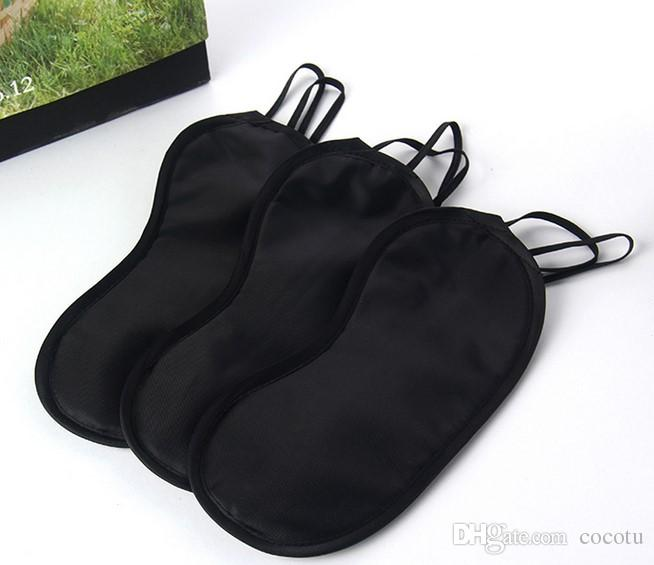 High quality Sleeping Eye Mask Blindfold Sleeping mask black Cover Shade for Travel Rest