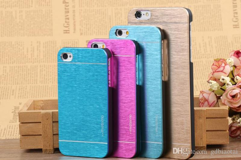 New Design Motomo Hybrid Aluminum Case Shockproof Ultra Thin Case For iPhone 4 4s 5 5s 6 6Plus 6s 6sPlus