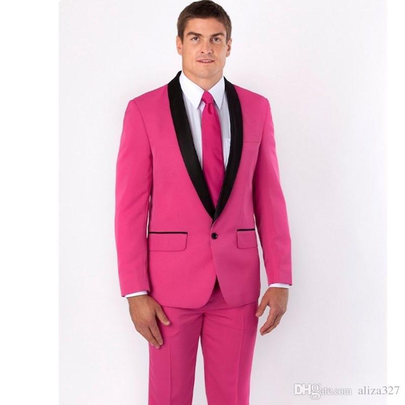 Acheter Robe De Mariée Des Hommes De La Meilleure Robe De Mariage Pour  Homme Rose Robe De Soirée Pour Homme Ensemble De 2 Pièces Veste + Pantalon  De  105.53 ... 226b34a4481