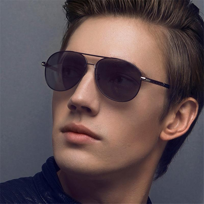 3c8082a7bf17 Polarized Brand Designer Mens Sunglasses With Color Film Large Frame High  Quality Brands Luxury Sun Glasses For Riding Sunglass Ray UV400 Sports  Sunglasses ...