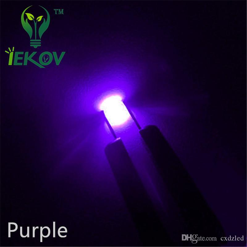 High Quality 1206 SMD Purple/UV led 400-410nm Super Bright Light Diode SMD/SMT Chip lamp beads DIY Retail