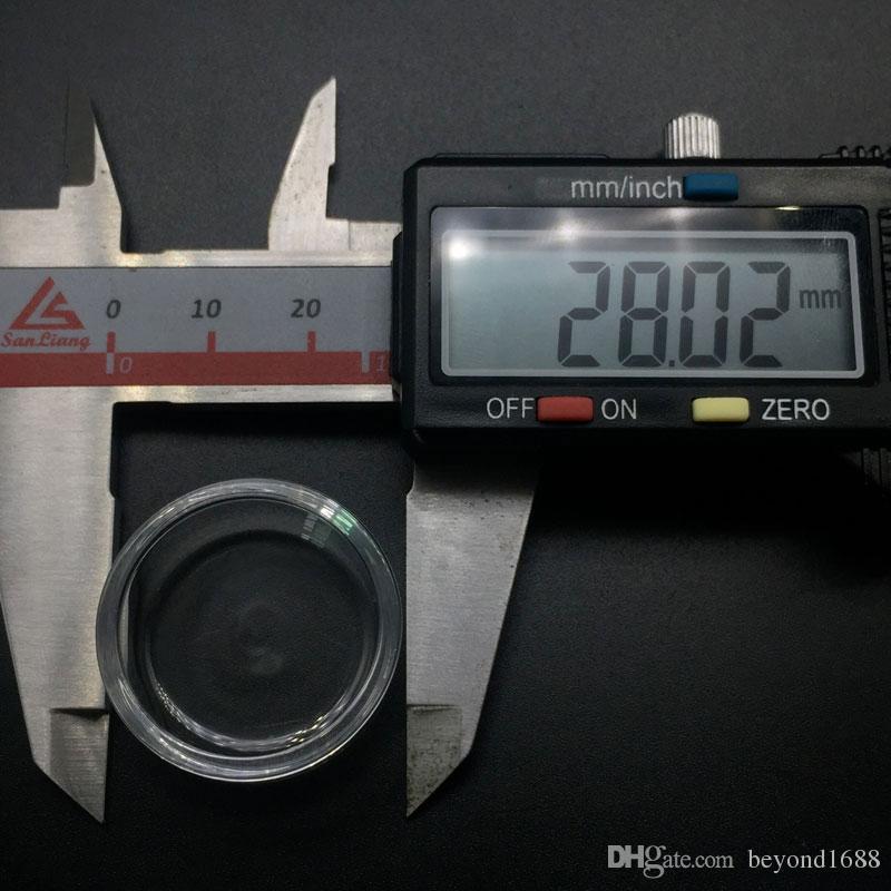 11mm 15mm 18mm 20mm 23mm 25mm 28mm Quartz Insert Bowl For Flat Top Beveled Edge Quartz Banger Nails Glass Water Bongs Dab Rigs