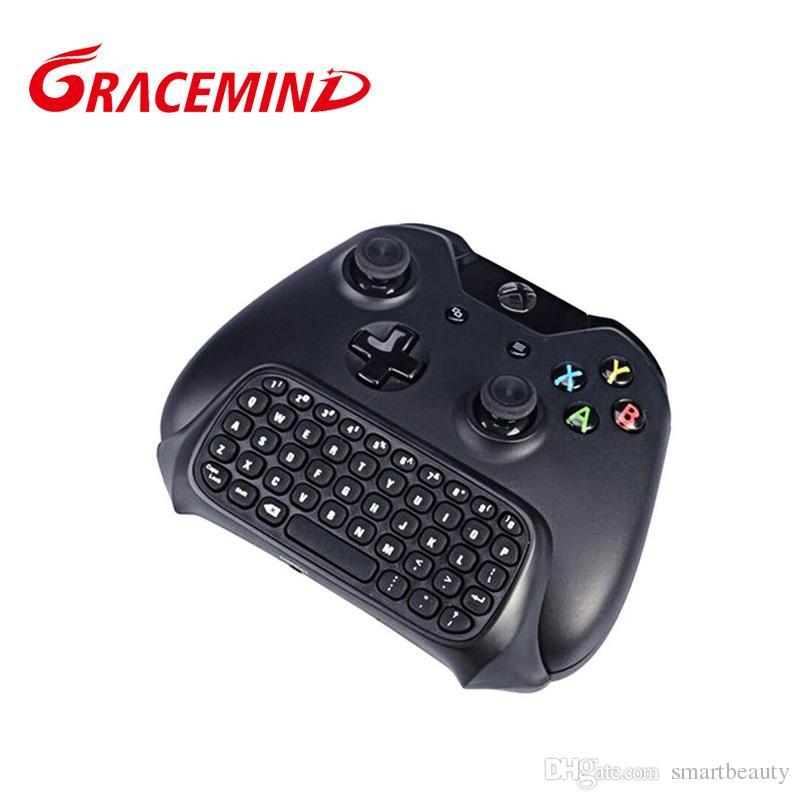 2.4G Mini Wireless Blutooth Gioco Messenger Chatpad tastiera di testo Xbox One Controller video giochi con imballaggio al dettaglio