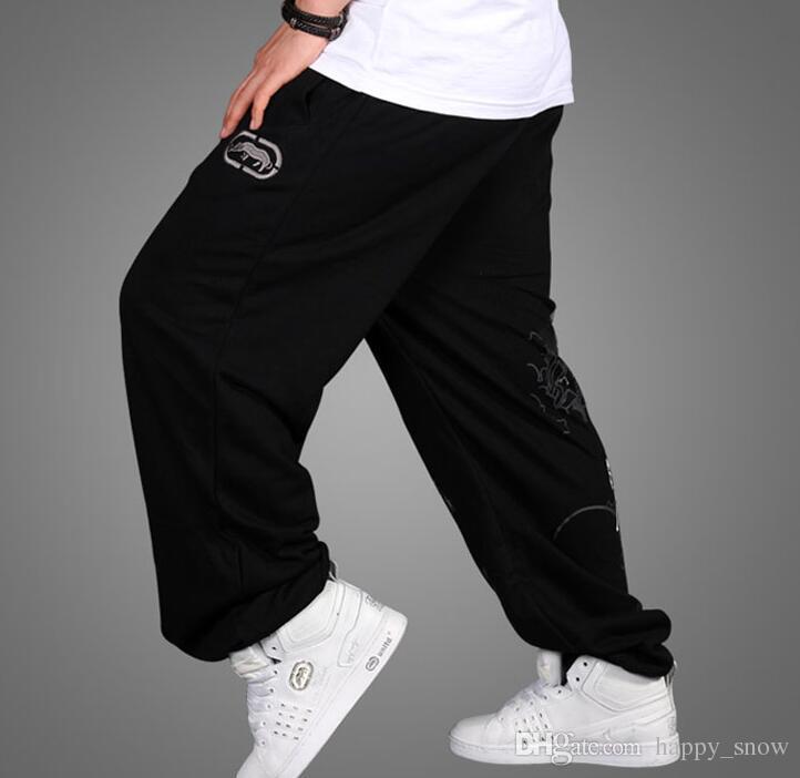 Nowa męska Grubość Grubość Hip-Hop Luźna Ruch Spodnie Płaszcze Spodnie Rhino Kto Spodnie Rozmiar: M-3XL