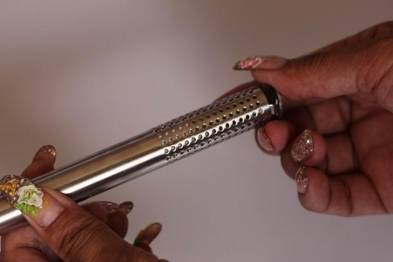 Paslanmaz Çelik Filtre Çay Sticks Süzgeçler Eğik Infuser Steeper