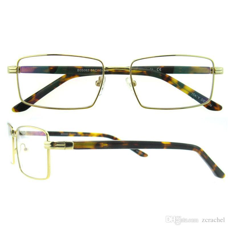 New Arrival Rectangle Acetate Frame Rimless Optical Frame For Men ...