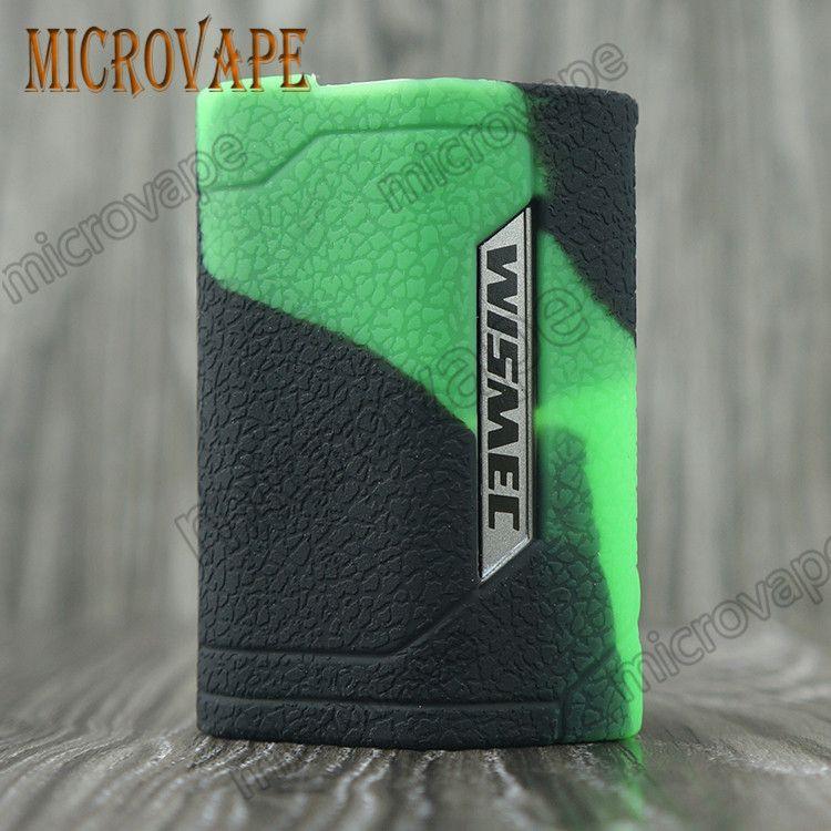 Eyc WISMEC Reuleaux Оптовая пищевой пыли доказательство силиконовый чехол/кожа/рукав/обложка/наклейка/обертывание для Wismec RX GEN3 300w бесплатная доставка