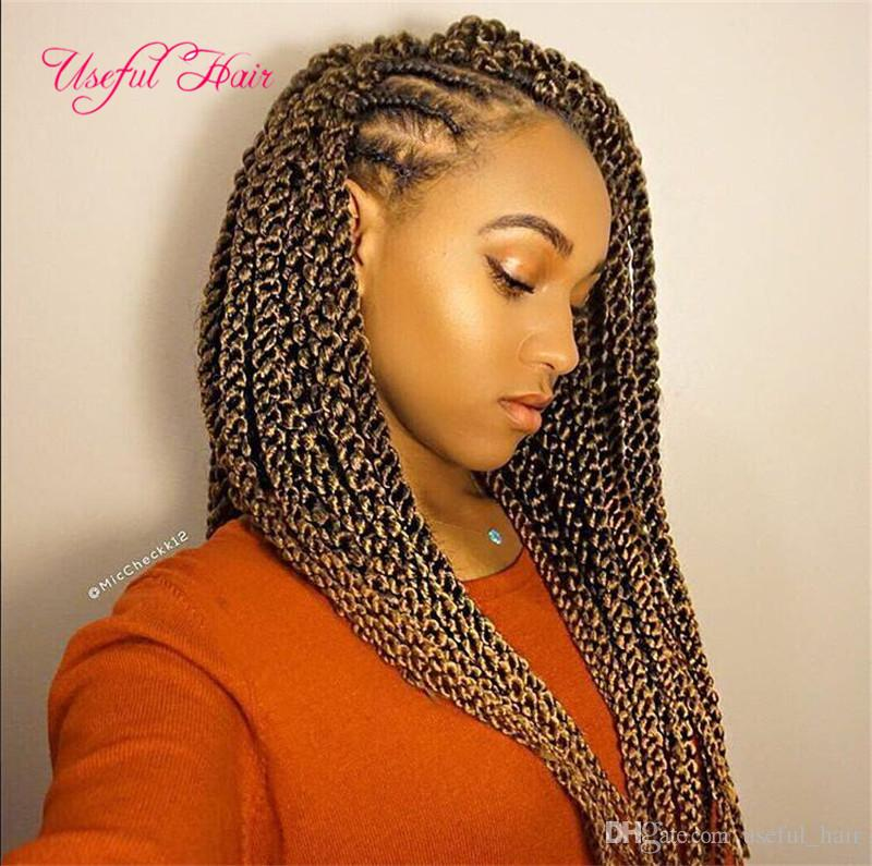 2018 3d cubic twist synthetic crochet braids hair for Crochet braids salon