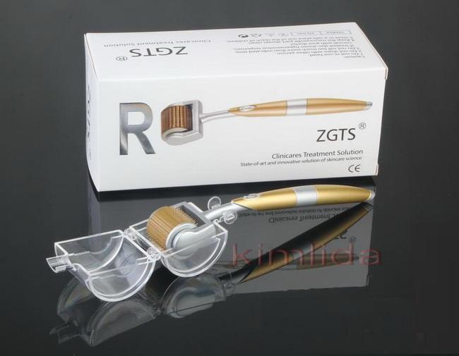 ZGTS Titanyum Alaşım Derma Roller 192 iğne Tıbbi tedavi cihazları, mikro iğne dermaroller mezo güzellik rulo