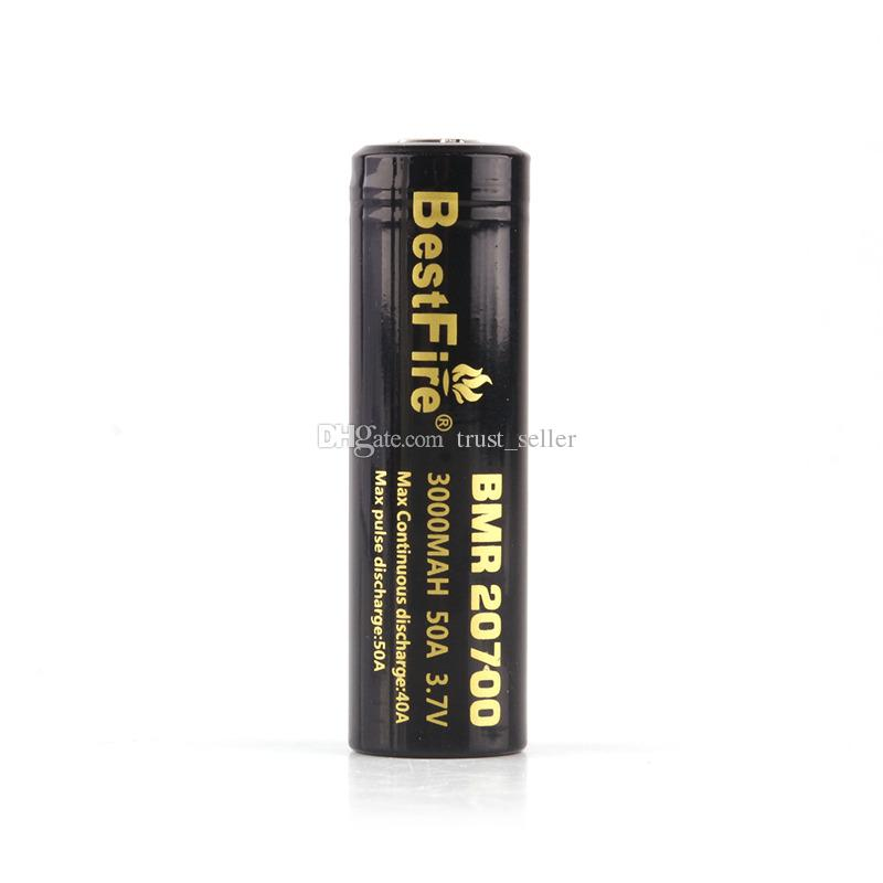 Original BestFire BMR 20700 3000mAh 50A 3.7V High Drain Rechargeable Battery for 510 thread Box Mod