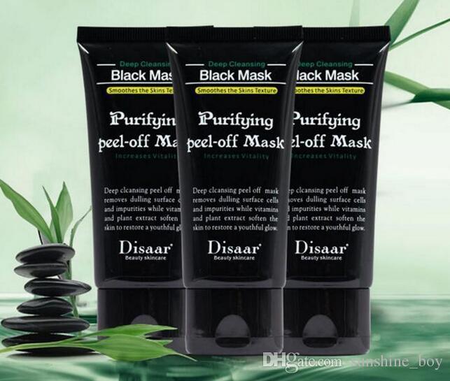 2017 New Black Suction Mask Anti-Aging 50ml SHILLS Deep Cleansing purifying peel off Black face mask Remove blackhead Peel Masks
