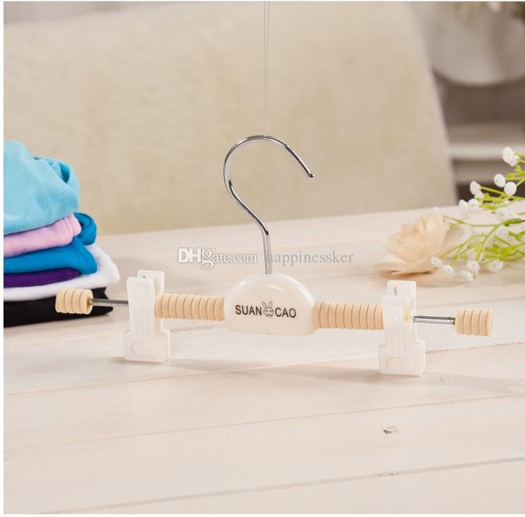 Kids Baby Children Trousers Rack Hangers Pants Clothes Plastic Hot Sales Brand New Good Quality
