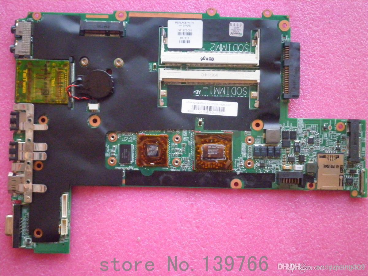 581172-001 placa para placa-mãe DDR2 laptop HP Pavilion DM3 com AMD cpu L335