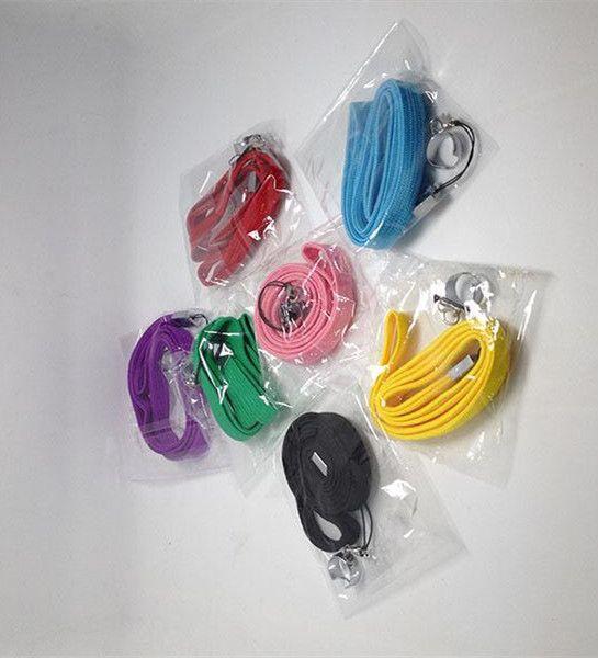 Collana eGo colorata di buona qualità Cordino EGO-T piacevole Corda Sospensione con anello d'acciaio EGO-t ego-w ego Batteria