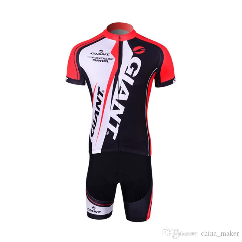 5c9f27b7a Brand New GIANT Summer Cycling Jersey Sets Quick Dry Road Bike ...