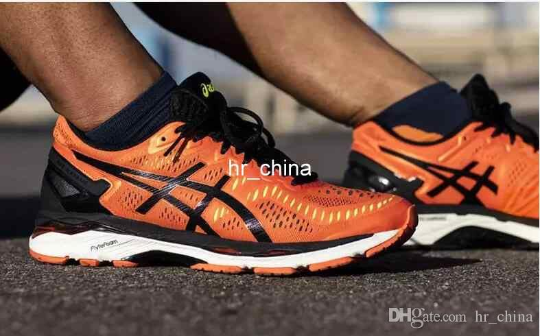3d620b2298f 2017 Wholesale Price Asics Gel Kayano 23 Running Shoes For Men New Style  Athletic Boots Sport Sneakers Size 40 45 Sports Shoes Running Shoes From  Hr china