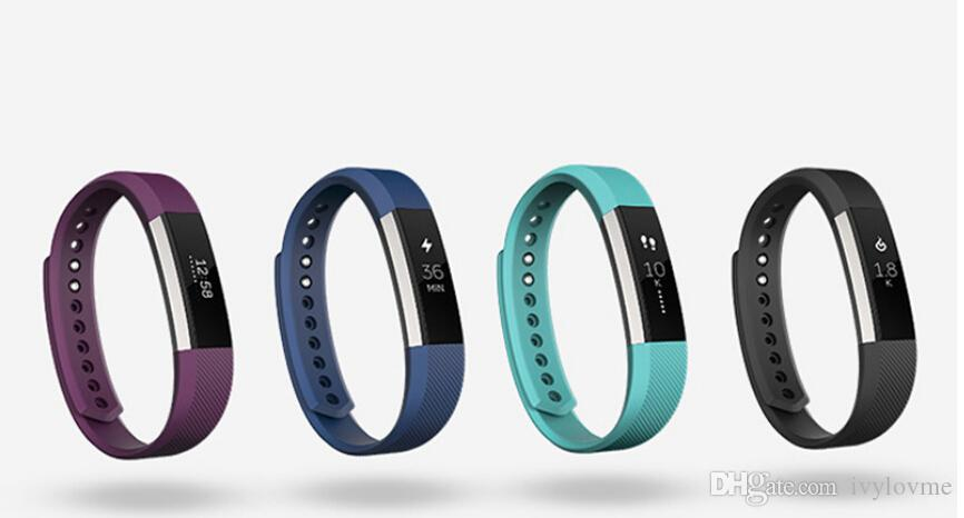 2018 Newest Silicone Watch band Bracelet Wrist Strap For Fitbit Alta Smart Watch No Tracker L/S size Pk Fitbit charge 2