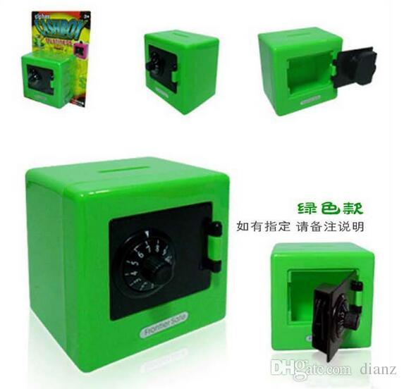 Fashion Hot Children Combination Code Safe Lock Piggy Bank Money Box For Saving Coins Cash Hot Sale For Gift