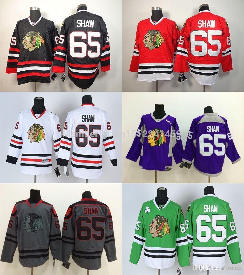 4db86cbe674 ... best price 2017 2016 authentic chicago blackhawks jerseys 65 andrew  shaw jersey cheap ice hockey jerseys