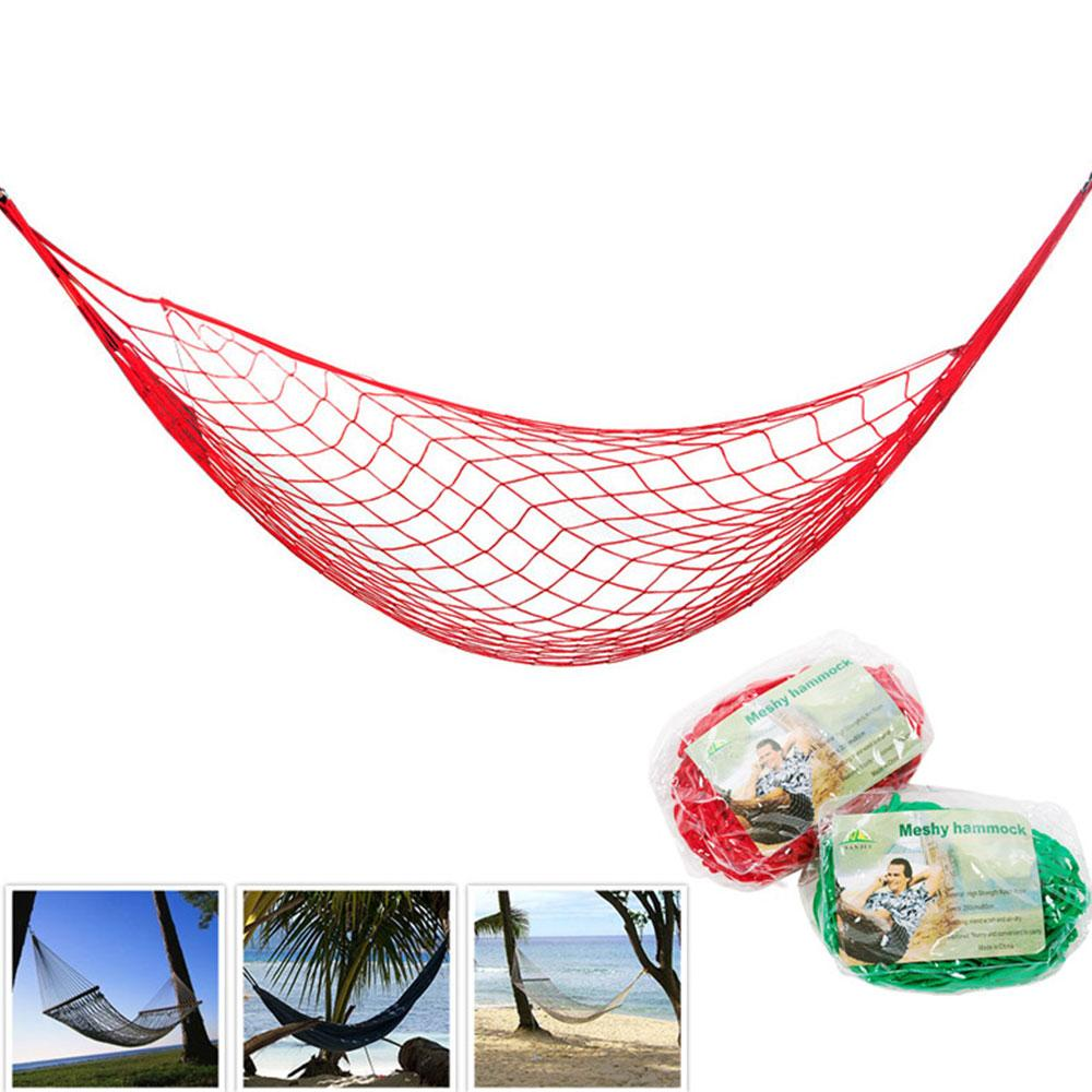 Online Cheap High Quality Nylon Rope Mesh Hammock Portable Outdoor Garden  Hammock Hang Bed Travel Camping Swing Fauteuil Suspendu By Echootime |  Dhgate.Com