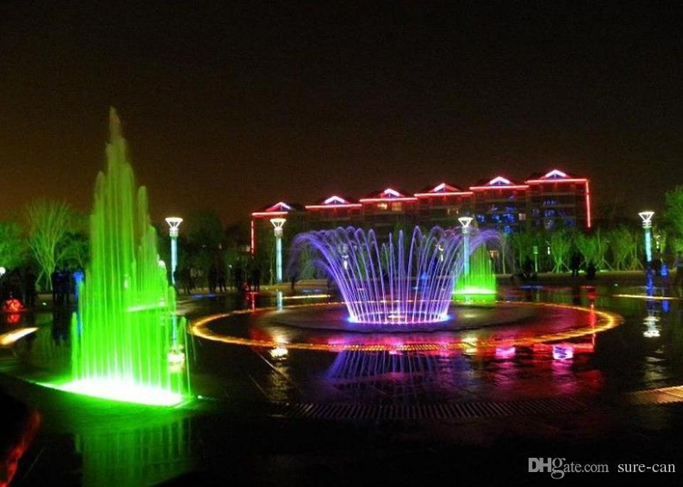 LED подводный свет LED 10W AC 110v 220v DC 12V аквариум фонтан бассейн лампа свет IP68 Водонепроницаемый мыть пятно света теплый / холодный белый свет