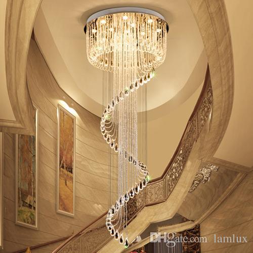 Acheter Lustres De Plafond En Cristal Haut De Gamme K9 Crystal Spin