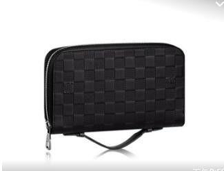 best quality 2017 men leather brand classic luxury wallet casual long designer card holder holder pocket fashion wallets men wallet