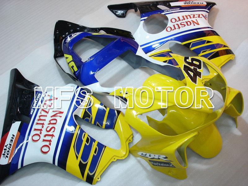 Kit personalizado de carrocería de inyección de carenado ABS para Honda CBR600 F4i 2001 2002 2003 01 02 03