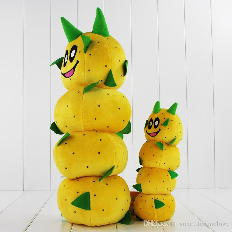 New Arrival Super Mario Bros Caterpillar Pokey Sanbo Cactus Plush Doll Toy 23-40cm 2 Styles you can chooseHigh Quality