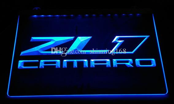 LS2499-b ZL1 Camaro LED Neon Light Sign Decor Free Shipping Dropshipping  Wholesale 6 colors to choose