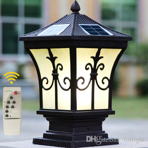 Wholesale Solar Lamps At $273.37, Get Solar Power Led Post Lights Super  Bright Outdoor Waterproof Garden Lights LED Solar Lights Home Post Lamps  Outdoor ...